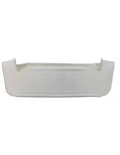 Plage arrière 2cv en skaï blanc