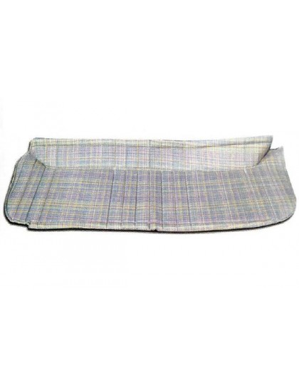 Plage arrière 2cv tissu écossais chiné