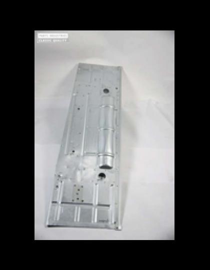 Plancher gauche 2cv gros pot de suspension electrozingué