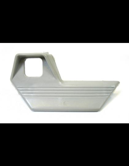 Poignée de porte droite Dyane en plastique gris clair