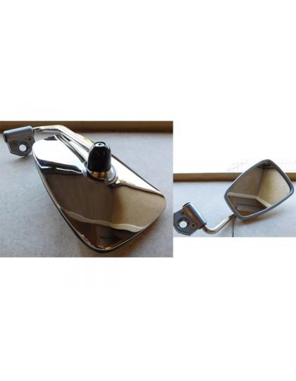 Rétroviseur extérieur gauche en inox 2cv très belle fabrication