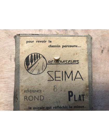Publicité pour le rétroviseur plat 2cv de marque Seima