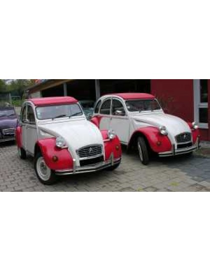 Restauration  2cv Dolly
