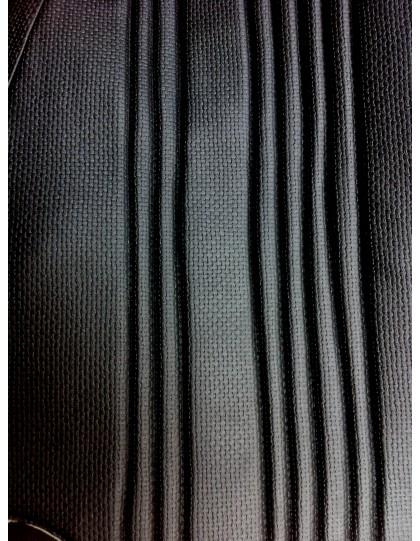 Garniture de banquette arrière Ami 8 berline en targa noir