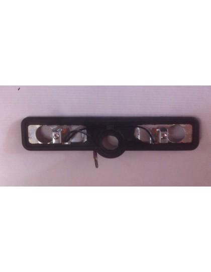 Socle d'éclaireur de plaque Ami 6 Axo avec joint et vis de fixations