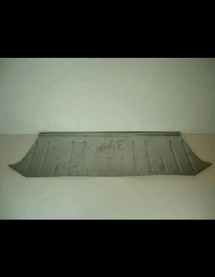Tôle sous banquette arrière 2cv sans trappe de visite de réservoir