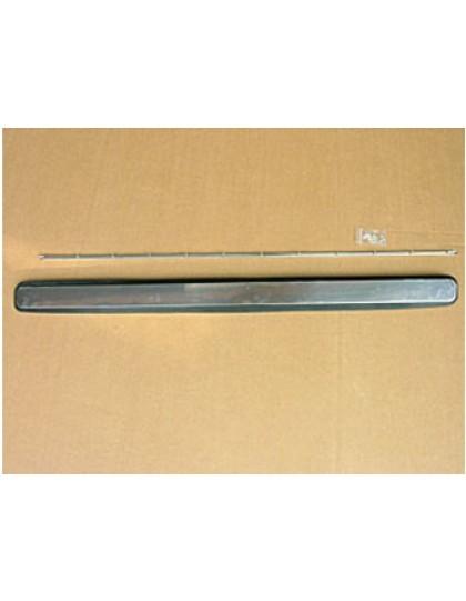 Volet d'aération 2cv inox avec joint  baguette et écrous de fixation