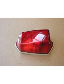 Cabochon de clignotant  rouge sur custode, occasion sans joint, origine, depuis 1964, photo non contractuelle