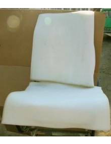 Mousse pour garnir un siège ( assise plus dossier )