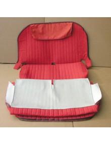 Garnitures de banquettes rouge diamanté  2cv AZAM qualité et finition comme d'origine , livraison gratuite en France Continentale