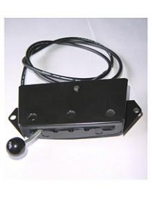 Commande de chauffage 2CV occasion avec câble et gaine photo non contractuelle