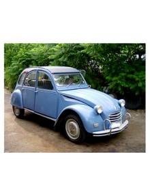 2 CV AZAM export 1967 bleu cyclades