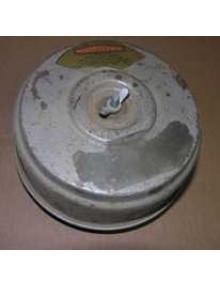 """Boîtier filtre à air occasion tôle """" Camembert """" pour 2cv AZ avant 1963 photo non contractuelle (noir ou gris ou autre selon arrivage)"""