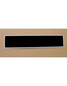Plaque d'immatriculation arrière 520 x 110 *