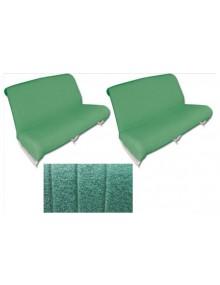 Ensemble de garnitures de banquette avant + arrière* diamanté vert Ami 6