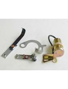 Vis platinées condensateur 12 Volts Ducellier, pour un démarrage facilité et une bonne carburation 2cv depuis 1968