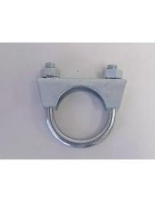 Collier modèle en U de 36 mm entre 2ème silencieux 2cv et tube intermédiaire et /ou tube de sortie
