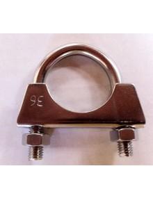 Collier de silencieux 36 mm en inox