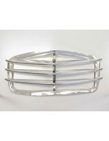 Calandre en aluminium 3 barres,  2 CV montage possible sur les modèles avec capots 5 nervures refabrication de très belle qualité