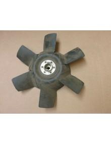 Hélice de ventilateur tôle 6 pales occasion prévoir sablage et mise en peinture