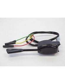 Commodo  de clignotant noir, 2 CV origine avec support et bruiteur.