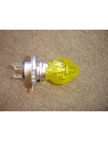 Ampoule de phare H4 12 volts  60/55W bulbe jaune amovible