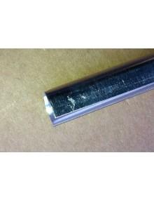 Baguette aluminium de maintient du joint de capote 2CV