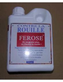 Ferose convertisseur de rouille 500 ml, l'antirouille durable pour la 2cv et les autres voitures qui rouillent Livraison offerte en France continentale