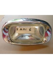 Bloc optique Ami 6  veilleuse sur connecteur  avec support et enjoliveur