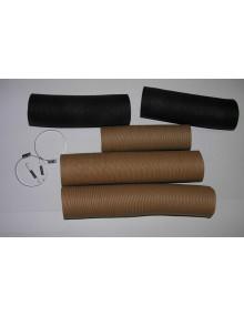Ensemble chauffage 2cv4 renforcé * excellente isolation phonique** avec colliers et ressorts de clapets d'air