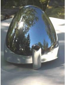 Cuvelage de phare chromé 2cv  avec verrou et boulon de fixation Valéo Origine