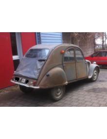 2CV AZ 1956 sortie de grange, moteur tournant, 70400 kms non garantis,vendue hors circulation sans garantie aucune, à restaurer, à chercher sur plateau, livraison possible