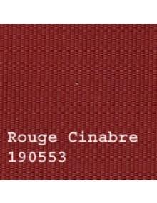 Capote 2CV neuve, fixation intérieure, rouge cinabre  également appelée rouge grenat, petit grain