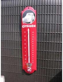 Thermomètre émaillé 2cv Hauteur 30 cms Découvrez nos idées cadeaux 2cv dans notre boutique