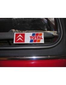Vitrophanie Citroën Total livraison offerte en France continentale