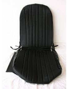 Garniture de siège droit, targa noir, 2CV/Dyane dossier symétrique