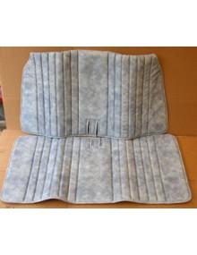 Garniture de banquette avant skai bleu denim pour 2cv Cocorico et 2cv finition Spécial