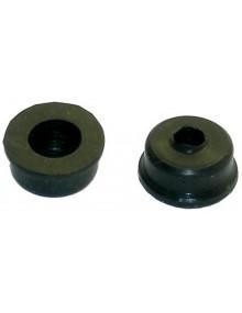 Protecteurs caoutchouc d'étanchéité sur axe de balai d'essuie glace 2cv  ( La paire )