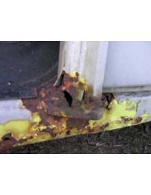 Corrosion pied de porte