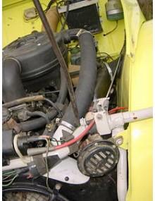 Moteur 2CV6 équipé du Kit soufflante