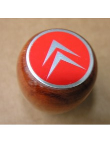 Pommeau de levier de vitesse fantaisie brun 2cv