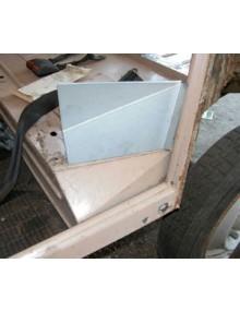 Tôle de réparation d'entrée de porte arrière gauche
