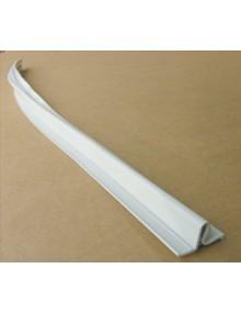 Soufflet gris d'étancheité de porte arrière, 2CV depuis 1970  longueur 88 cm en caoutchouc gris clair