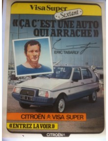 Affiche Visa Sextant Eric Tabarly