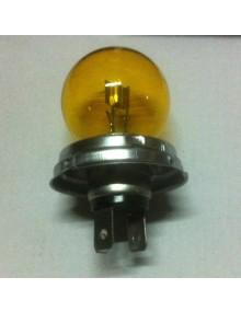 Ampoule 6 volts jaune code européen 45/40 Watt sans lumière pour éclairage de la veilleuse