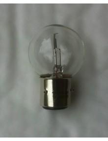 Ampoule blanche 12 volts 45/40Watts  ancien montage à baïonnette
