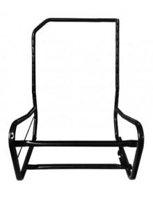 Armature de siège avant droit nue dossier asymétrique