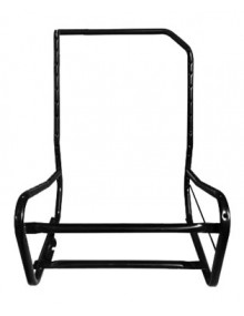 Armature de siège avant gauche nue dossier asymétrique