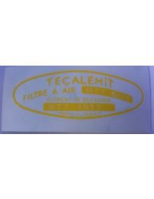 Autocollant Técalamit pour filtre à air Livraison offerte en France continentale