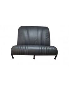 Garniture de banquette arrière rabattable pour Dyane en targa noir